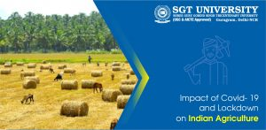 Impact of Covid- 19 and Lockdown on Indian Agriculture