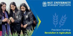 Precision Farming: Revolution in Agriculture