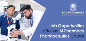 Job Opportunities After an M Pharmacy Pharmaceutics Course