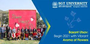 Basant Utsav: Begin 2021 with Vibrant Aroma of Flowers