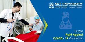 Nurses' Fight Against COVID – 19 Pandemic