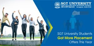 SGT University Students Got More Placement Offers This Year