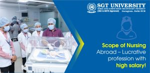 Scope of Nursing Abroad – Lucrative profession with high salary!